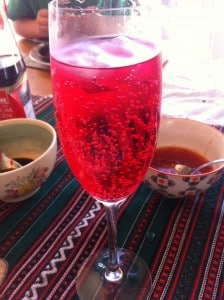 Rosey Pink Mocktail