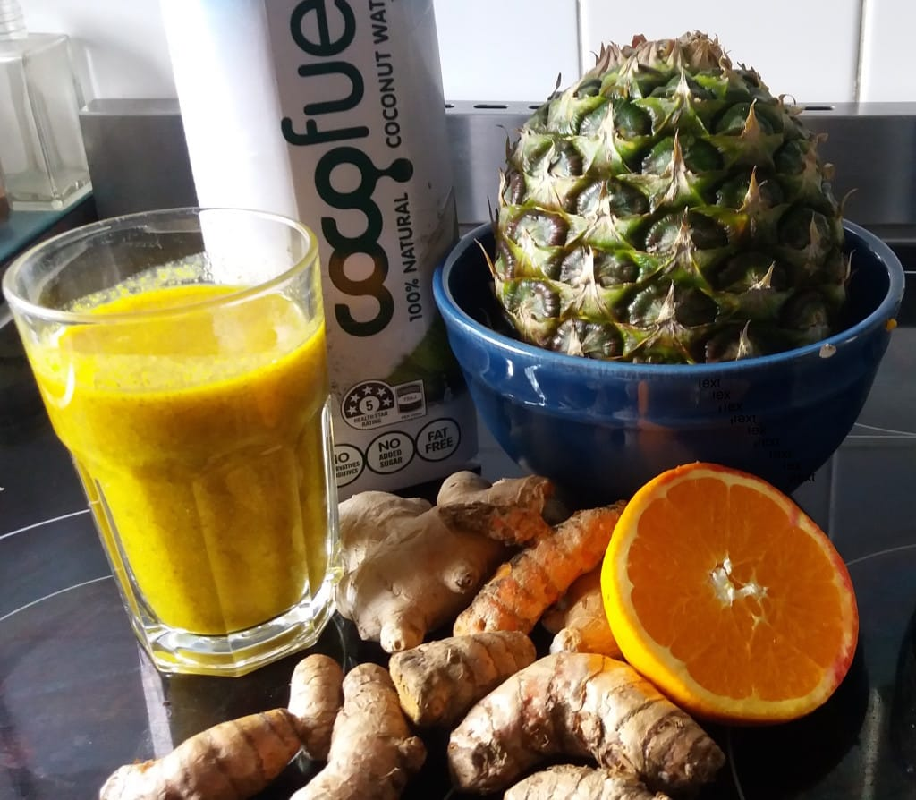 Turmeric Orange Pineapple Delight