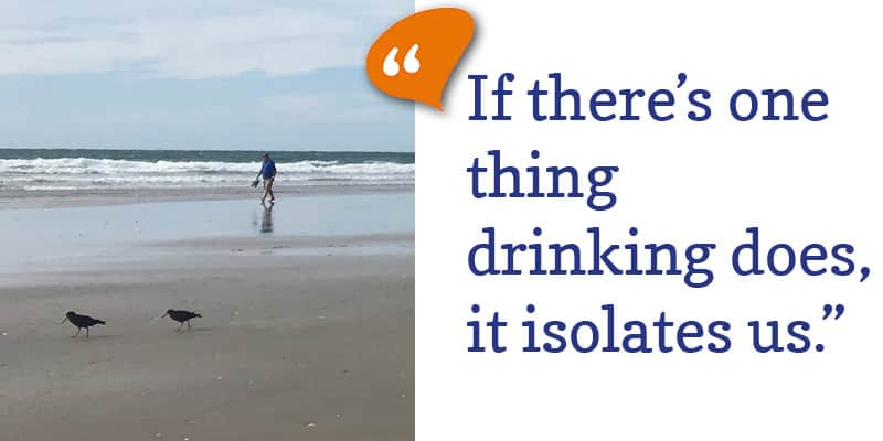 Drinking isolates us (guest post)
