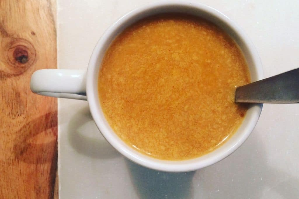 Turmeric and Ginger Latte